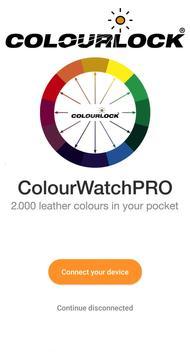 COLOURLOCK® ColourWatchPRO poster