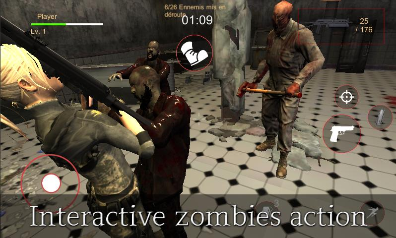 Evil Rise : Zombie Resident - Third Person Shooter for