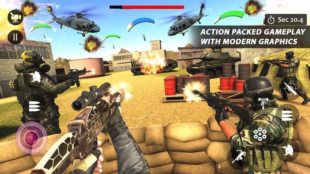 Counter Terrorist Striker 3D: Battleops Free Fire screenshot 7