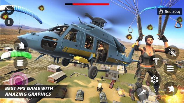 Counter Terrorist Striker 3D: Battleops Free Fire poster