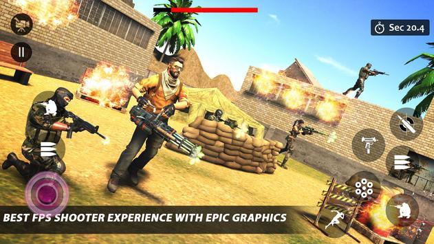 Counter Terrorist Striker 3D: Battleops Free Fire screenshot 17