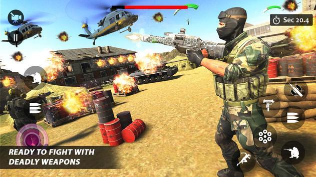 Counter Terrorist Striker 3D: Battleops Free Fire screenshot 16