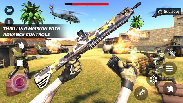 Counter Terrorist Striker 3D: Battleops Free Fire screenshot 18