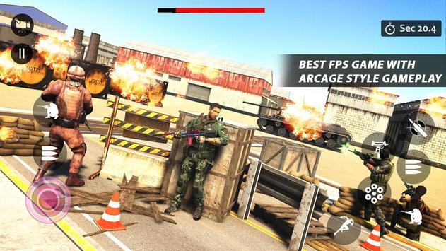 Counter Terrorist Striker 3D: Battleops Free Fire screenshot 1