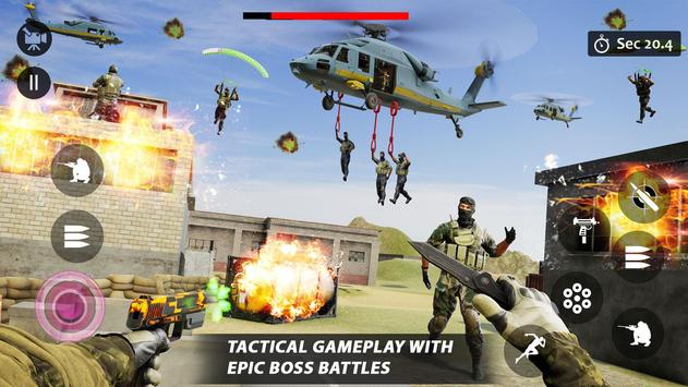 Counter Terrorist Striker 3D: Battleops Free Fire screenshot 20