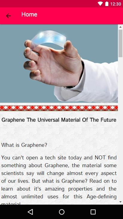 How to Make Graphene poster