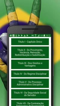 Estatuto do Servidor Público screenshot 4