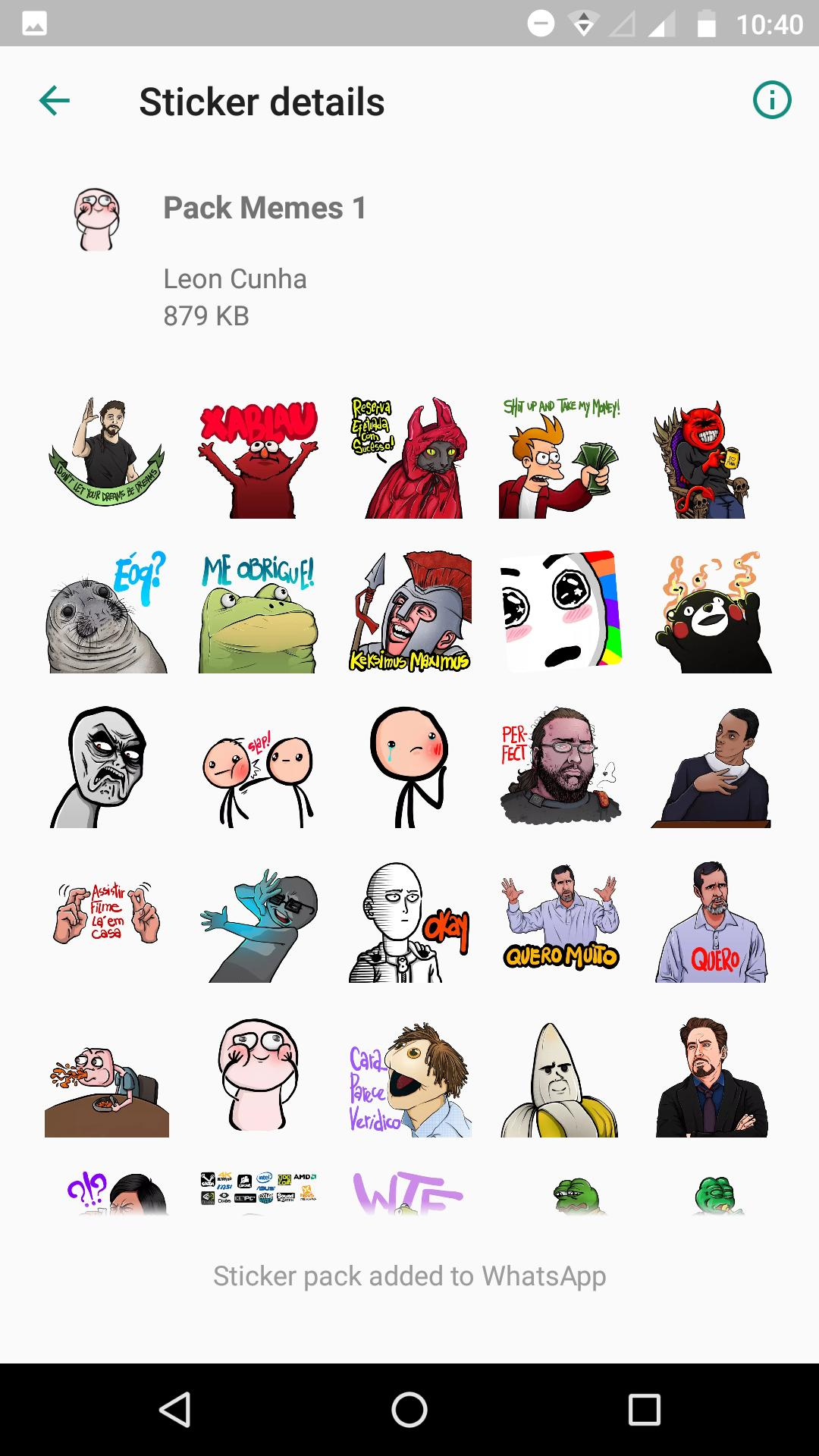 Stickers Para Whatsapp Pack De Memes For Android Apk