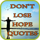 Don't Lose Hope Quotes icon