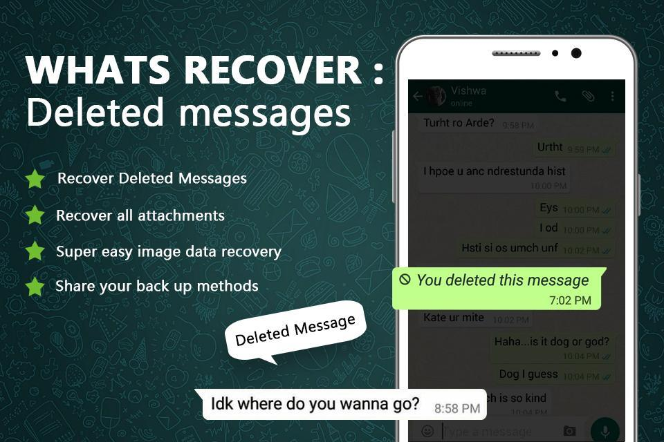 WA-Recovery: Deleted Whats Messages 2020 for Android - APK Download