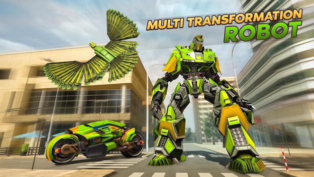 Army Spy Pigeon Multi Transforming Robot Games screenshot 3