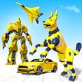 Wild Jackal Robot Transform Car War: Robot Games