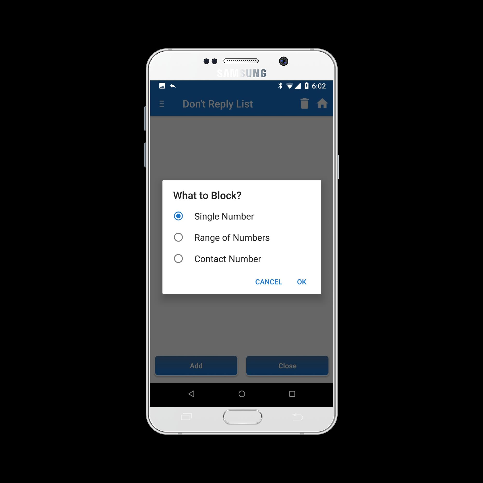 SMS Auto Reply Text Message / SMS Autoresponder for Android