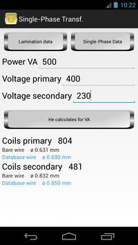 Calculation Transformers screenshot 1