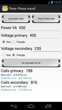 Calculation Transformers screenshot 6