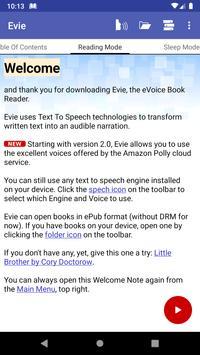 Evie screenshot 1