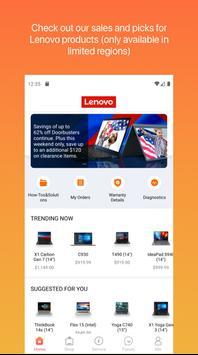Lenovo capture d'écran 14