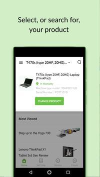 Lenovo Help скриншот 1