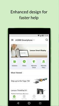 Lenovo Help скриншот 2