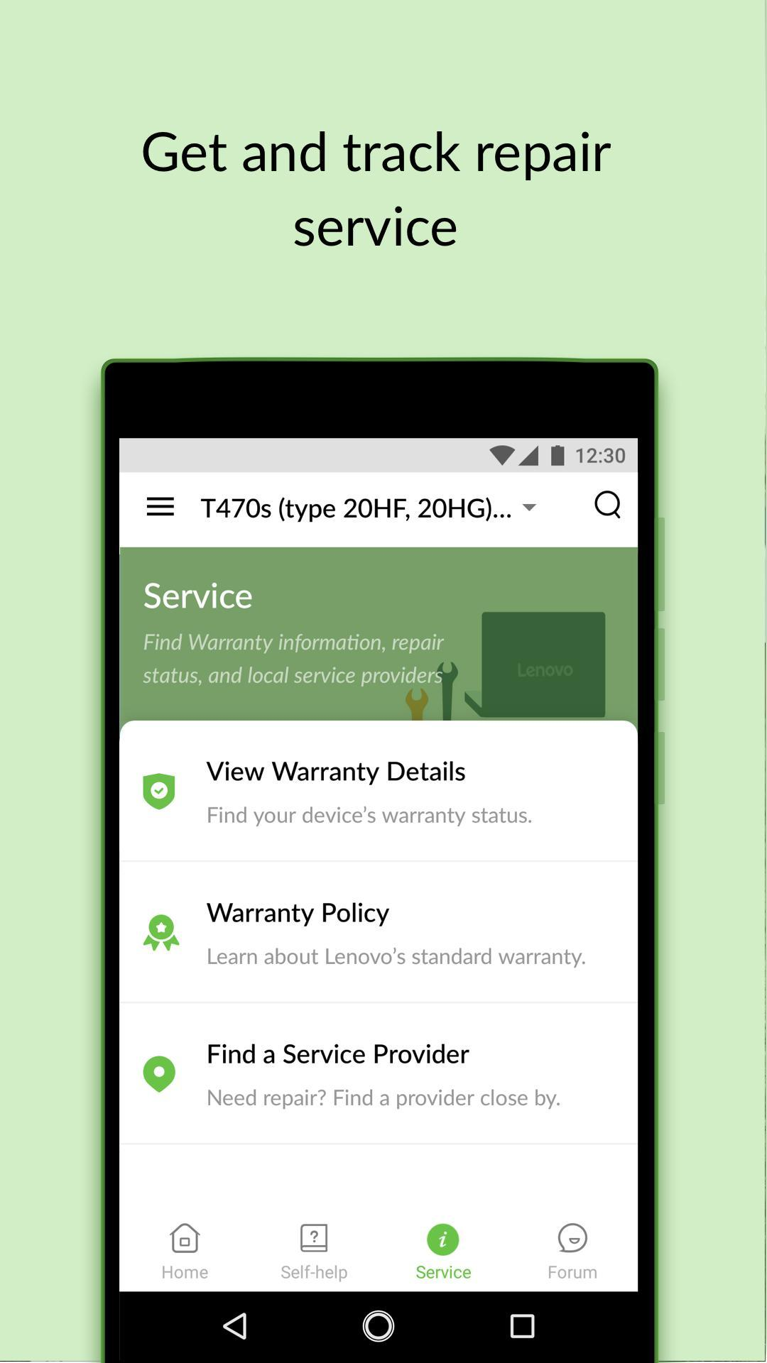 Lenovo Help for Android - APK Download