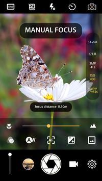 Manual Camera : DSLR - Camera Professional 截图 1