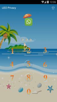 AppLock Theme - Volleyball screenshot 2