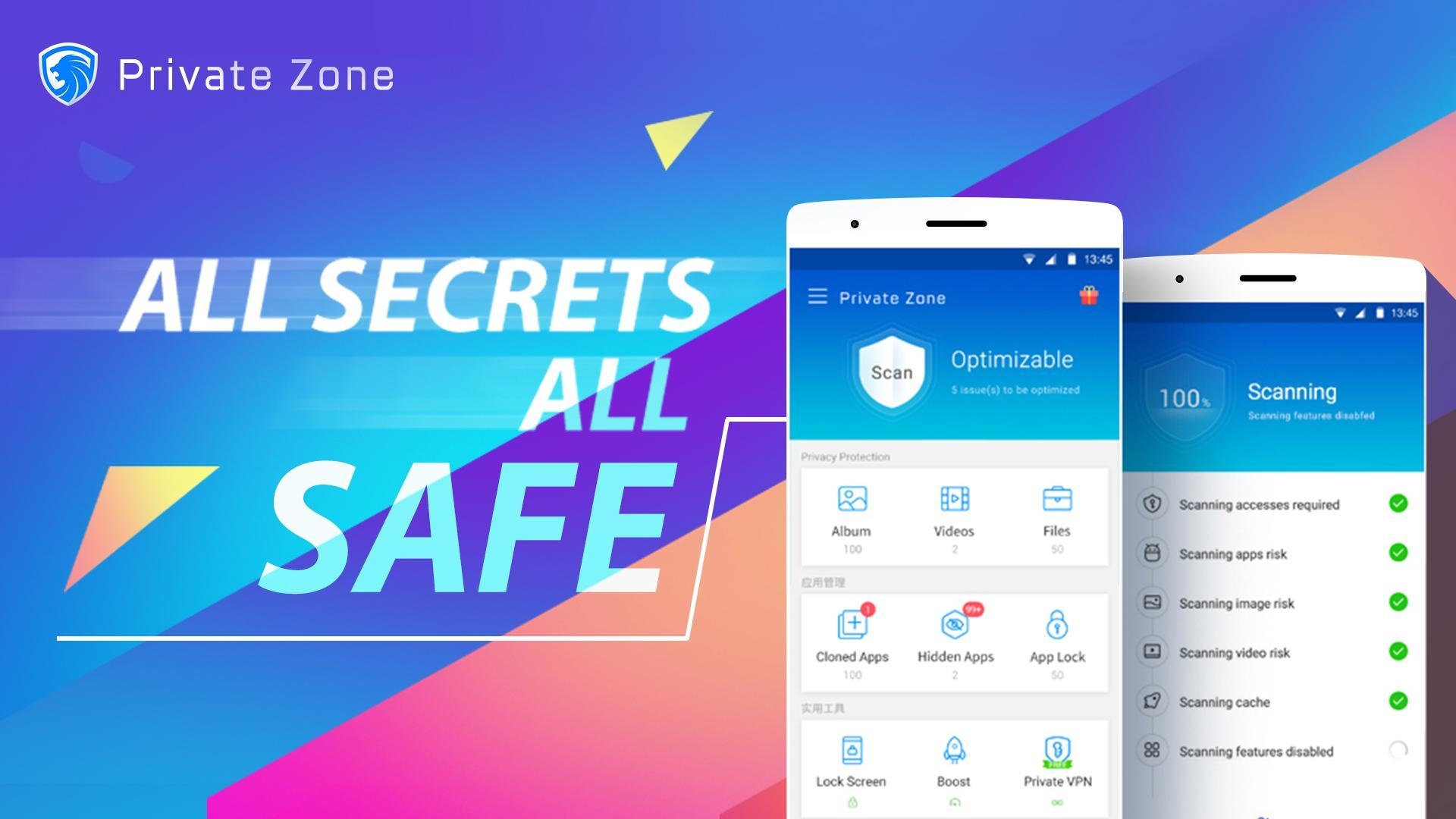 Private Zone - AppLock, Video & Photo Vault for Android