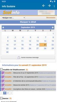 Info Scolaire screenshot 1