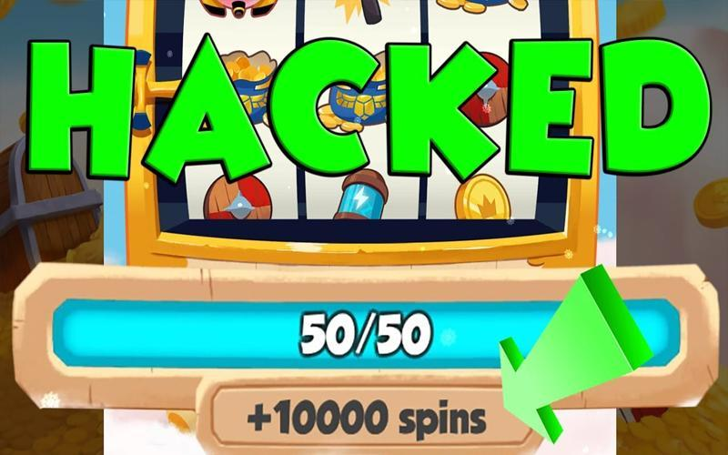 Unlimited free spins for coin master
