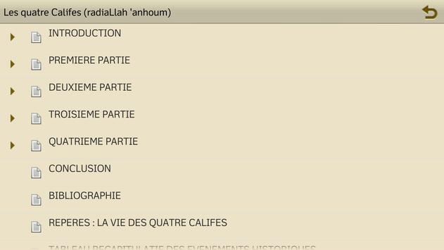 Les quatre Califes screenshot 5