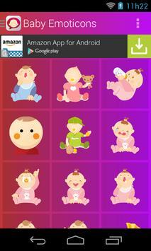 Baby Emoticons screenshot 1