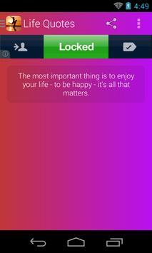 Life Quotes screenshot 1
