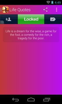 Life Quotes screenshot 2