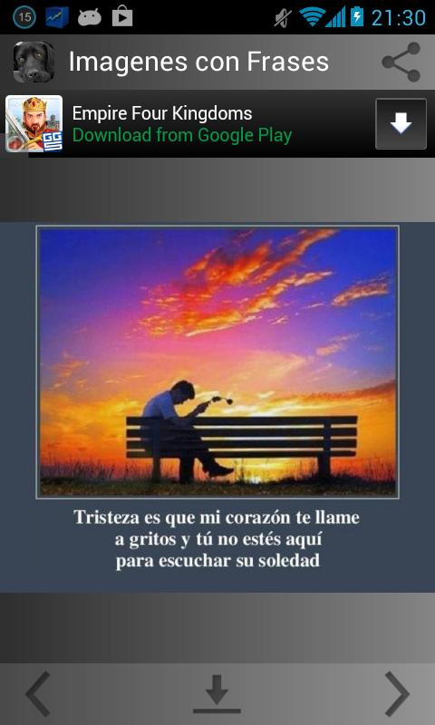 Imagenes Con Frases Tristes For Android Apk Download