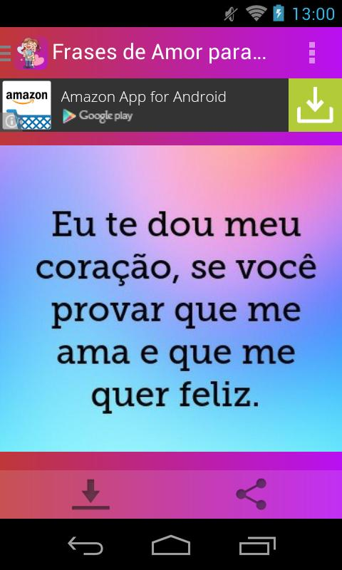 Frases De Amor Para Namorado For Android Apk Download