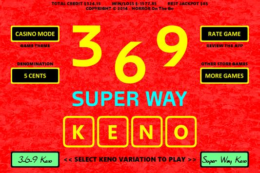 369 Super Way Keno screenshot 4