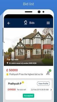 Lets Bid Property - Estate Agent App screenshot 5