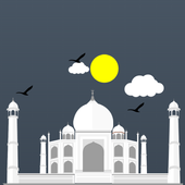 The Taj Mahal icon