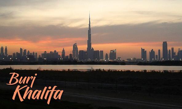The Burj Khalifa poster