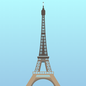 The Eiffel Tower icon