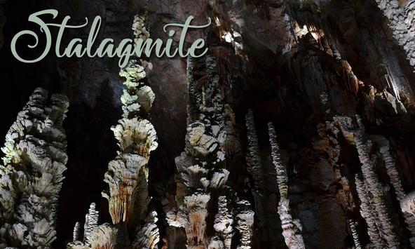 Stalagmite poster