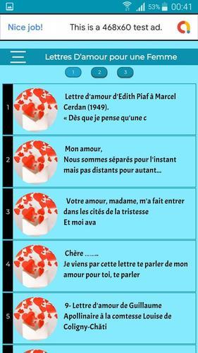 Lettres Damour Pour Une Femme Messages Damour For