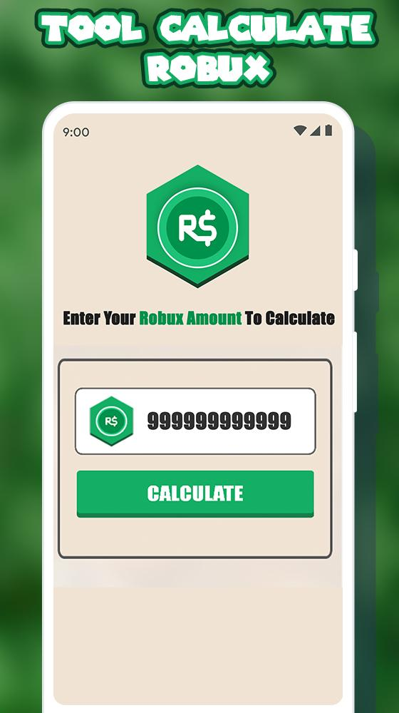 Free Robux Calculator For Roblox for Android - APK Download