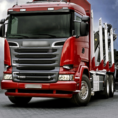 Theme HD Scania R Series High Timber Truck icon