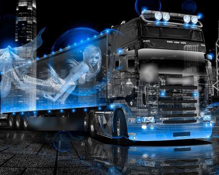 Theme HD Scania R Series High Timber Truck screenshot 3