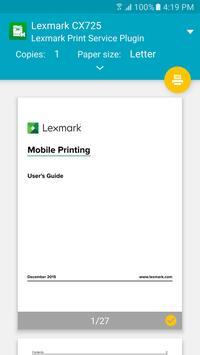 Lexmark Print Plugin screenshot 2