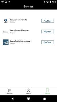 Lexus Enform screenshot 2