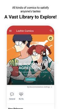 Lezhin Comics poster