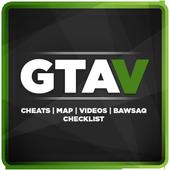 Map & Cheats for GTA V 아이콘