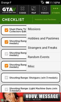 Map & Cheats for GTA V 스크린샷 5